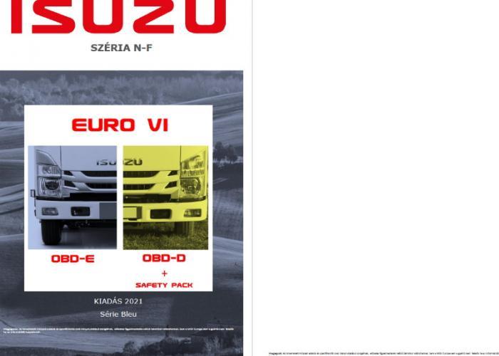 Katalógus Isuzu N-F Széria Euro VI OBD-D Safety Pack OBD-E