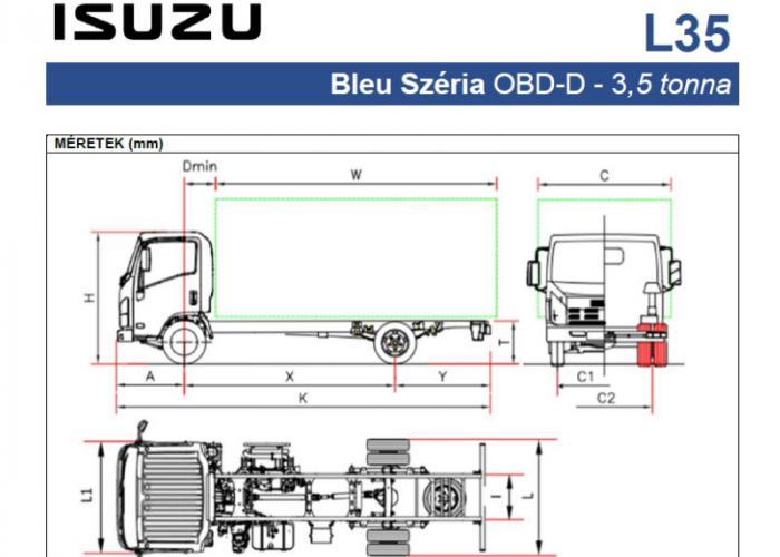 Katalógus Isuzu L35