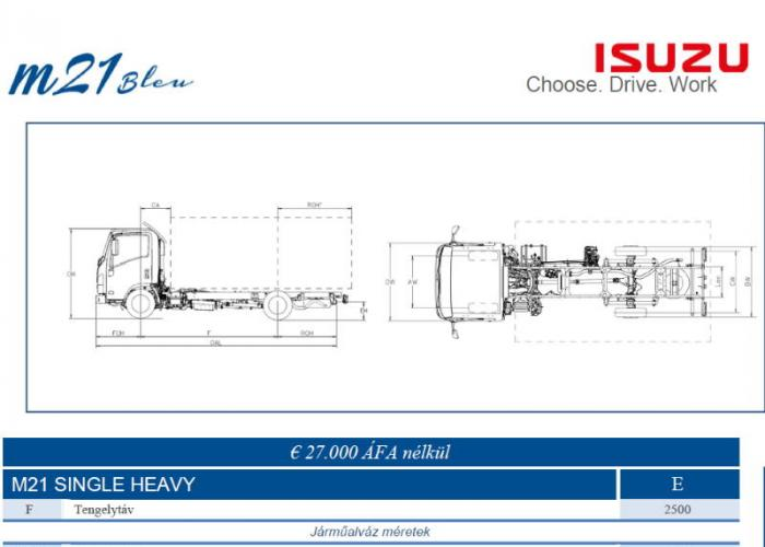Katalógus Isuzu M21 Single Heavy